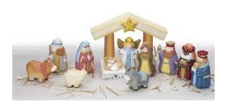 wooden nativity set 7 kid durable nativity sets