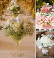 baby breath centerpieces wedding ideas mix it up with a baby s breath centerpiece