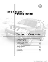 nissan armada 2006 1 g towing guide