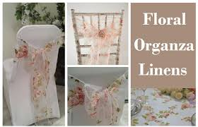 Overlays For Furniture by Linens Aglow Bridal Lounge