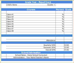 blank report card template blank report card templates blank report card template jpg 0e13b0