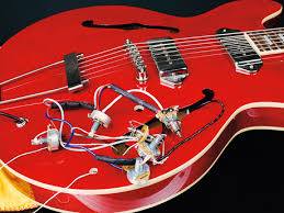 how to change the pickups on a gibson es 335 style guitar musicradar