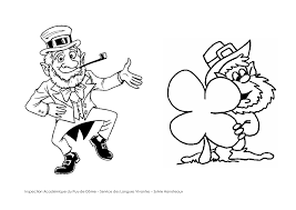 beautiful st patricks day coloring pages printable with leprechaun