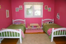 astonishing shared kids room designs to check out feminine pink