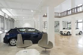 lexus showroom lexus showroom hq architects