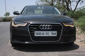 audi a6 india audi a6 special edition front indian autos