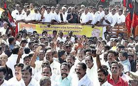 Seeking In Trichy Protests Seek Neet Exemption For Tn Trichy Nyoooz