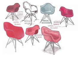 dar shell chair charles u0026 ray eames uncg iarc chaircards