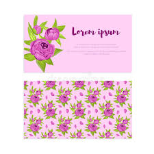 invitation for marriage purple vintage flowers in frame with sign and pattern for wedding