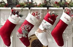 Free Shipping Pottery Barn 7 Reg 40 Pottery Barn Personalized Christmas Stockings Free