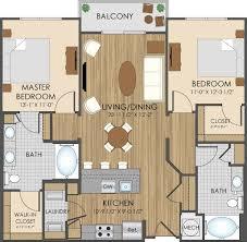 3 Bedroom Garage Apartment Floor Plans Floor Plans Of Hidden Creek Apartments In Gaithersburg Md 20877