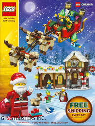lego late holiday 2014 catalog features lego ecto 1
