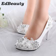 wedding shoes comfortable aliexpress buy plus size 34 40 fashion lace wedding shoes