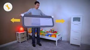 Bed Rail Toddler Safety 1st Portable Bedrail Installation Video Youtube