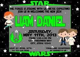 Star Wars Baby Shower Invitations - 15 best star wars baby shower images on pinterest star wars baby