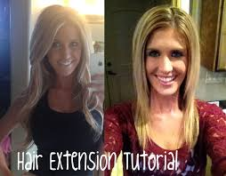 Hair Extension Tips by Hey Mcki My Hair Extensions Tutorial Under 60