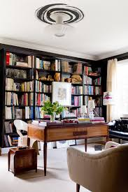 Barrister Bookshelves by Black Barrister Bookcases Living Room Craftsman With Gray Drapes