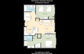 National Cathedral Floor Plan by Club Wyndham Wyndham Vacation Resorts At National Harbor