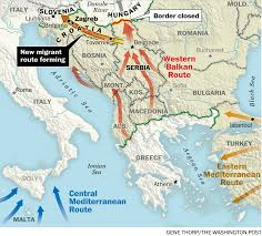 Hungary Map Europe by Fenced In Forced Out On The Uncertain Fate Of The Refugees Kept
