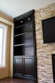 Custom Living Room Cabinets Toronto Glass Shelves Built In Units Around Fireplace Traditional