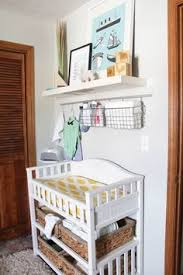 Changing Table Shelf Baby E S Beautiful Budget Friendly Nursery Change Tables
