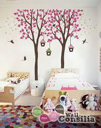 kinderzimmer wandtattoo baby kinderzimmer wandtattoo vogelhaus baum wall decal