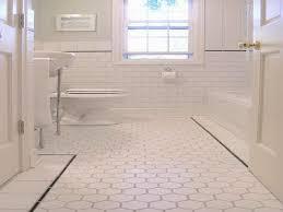 subway tile bathroom floor ideas small bathroom flooring ideas widaus home design within for