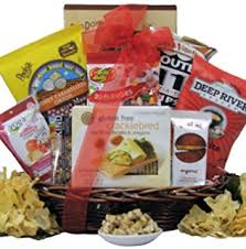 Vegan Gift Baskets Amazon Com All Natural Gluten Free Vegan Gift Basket Large