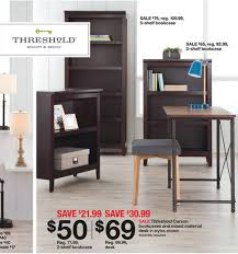 target black friday threshhold target u2013 threshold bookcases and desk deals over 50 off reg