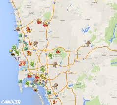 Trolley San Diego Map by Rare Pokemon Spawn Map Heavy W I P Pokemongosandiego