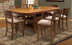 Dalton  Piece Butterfly Leaf Counter Height Dining Set With - Counter height dining table set butterfly leaf