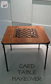 diy board game table take your old card table from trash to game table treasure hometalk