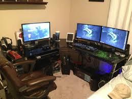 Realspace L Shaped Desk L Shaped Desk Gaming Setup Home Furniture Decoration
