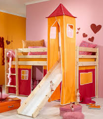 girls bunk beds with slide how to build home pictures on appealing