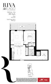 Toronto Condo Floor Plans Riva Del Lago Toronto Condos Monarch Group