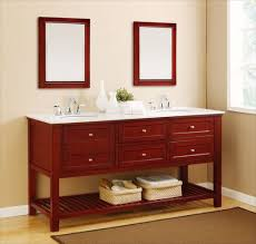 simple double sink bathroom vanity ewdinteriors