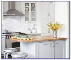 Glass Tile Backsplash With White Cabinets White Cabinets Glass Tile Backsplash Tiles Home Design Ideas