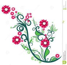 floral ornamental illustration royalty free stock photo image