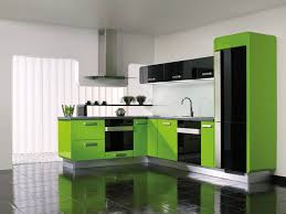Green Interior Design Products by Gorenje Interior Design Kitchen Delta Apple Green Gloss Black