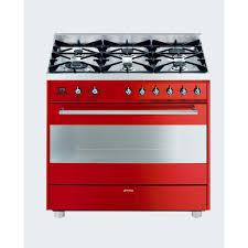smeg 90cm red gas cooker dream kitchen pinterest stove and smeg 90cm red gas cooker