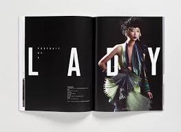publication layout design inspiration poster magazine toko design via magspreads com editorial design