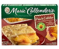 marie callender u0027s peach cobbler 32 ounce walmart com