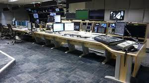 Control Room Desk News Itn Chooses Custom Consoles Module R Desk For New Production