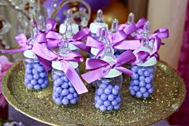 purple baby shower decorations purple baby shower party ideas photo 10 of 18 catch my party