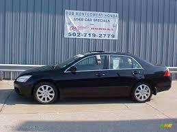 2006 black honda accord 2006 nighthawk black pearl honda accord ex l v6 sedan 16032903