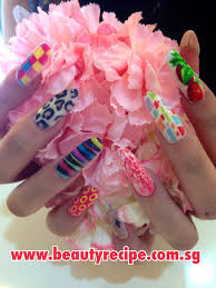 get amazed by the nail art printer singapore