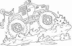 get this free monster truck coloring pages 29342