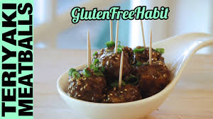 gluten free teriyaki cocktail meatballs super bowl party appetizer