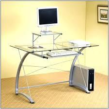 Black Glass Top Computer Desk Black Glass Top Desk White Glass Large Computer Desk Black Glass