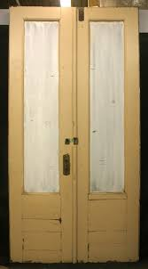 48 Exterior Door 48x95 Pair Antique Store Exterior Oak Wood